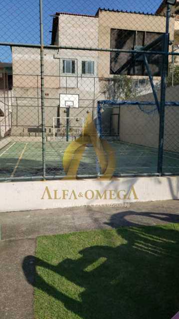 1 - Casa em Condomínio à venda Rua Edgard Werneck,Pechincha, Rio de Janeiro - R$ 420.000 - AOJ60121 - 17
