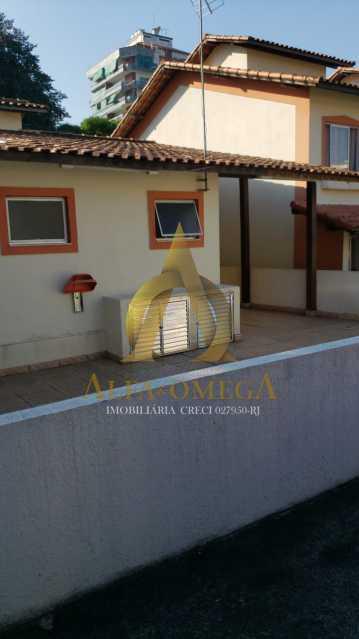 2 - Casa em Condomínio à venda Rua Edgard Werneck,Pechincha, Rio de Janeiro - R$ 420.000 - AOJ60121 - 14