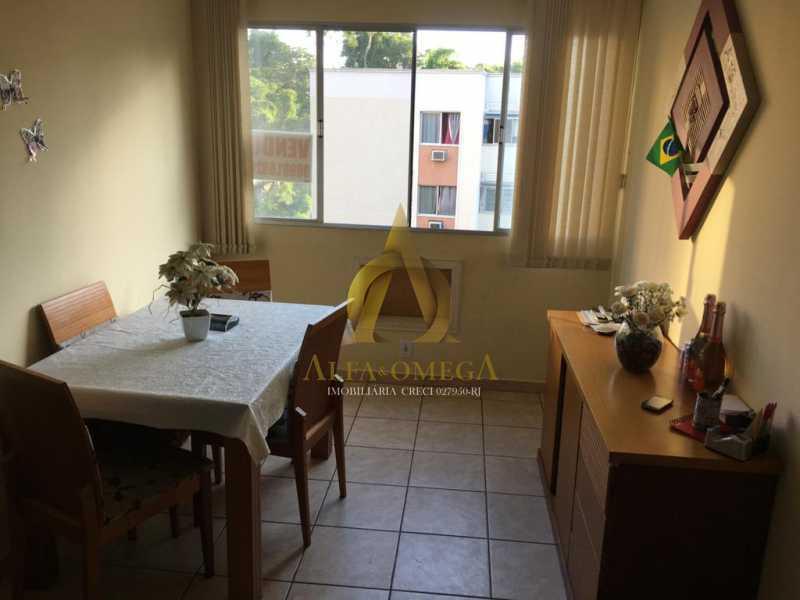 5 - Apartamento à venda Estrada Pau-Ferro,Pechincha, Rio de Janeiro - R$ 275.000 - AOJ30072 - 4
