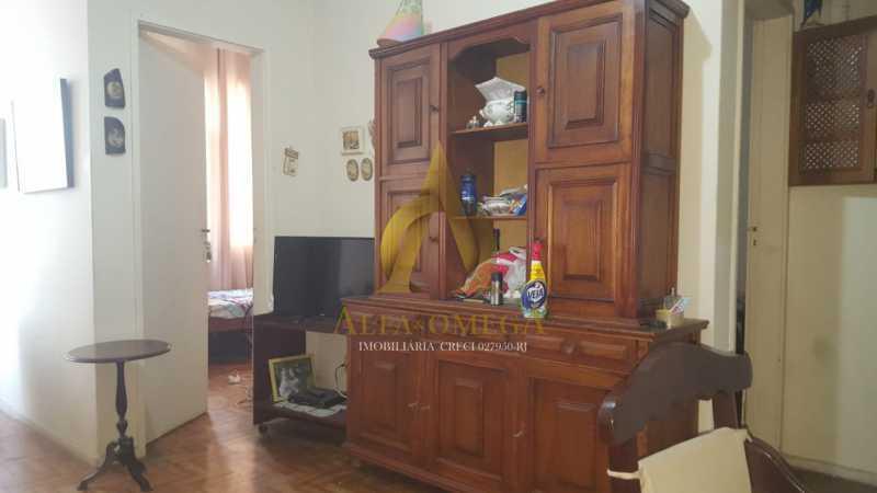 18 - Apartamento à venda Rua Lauro Muller,Botafogo, Rio de Janeiro - R$ 490.000 - AO20438 - 1