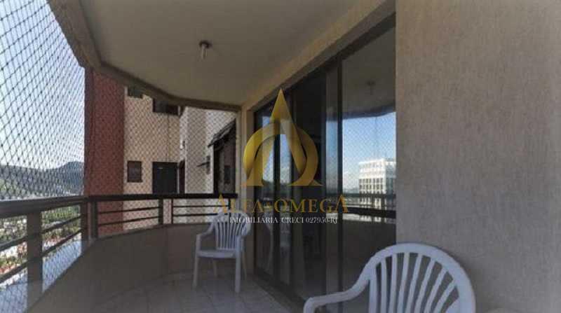 2 - Apartamento para alugar Rua Jornalista Henrique Cordeiro,Barra da Tijuca, Rio de Janeiro - R$ 2.400 - AO20310L - 3