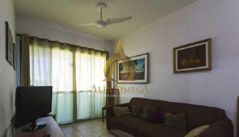 3 - Apartamento para alugar Rua Jornalista Henrique Cordeiro,Barra da Tijuca, Rio de Janeiro - R$ 2.400 - AO20310L - 1