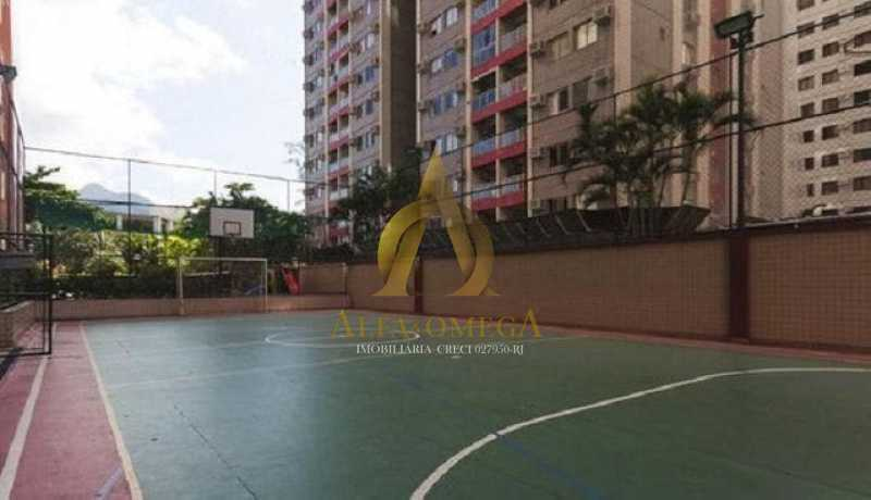 5 - Apartamento para alugar Rua Jornalista Henrique Cordeiro,Barra da Tijuca, Rio de Janeiro - R$ 2.400 - AO20310L - 14