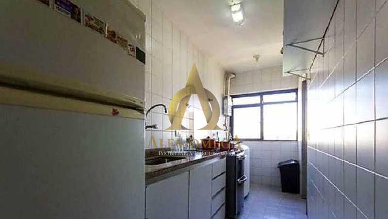 6 - Apartamento para alugar Rua Jornalista Henrique Cordeiro,Barra da Tijuca, Rio de Janeiro - R$ 2.400 - AO20310L - 11
