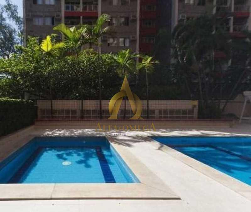 7 - Apartamento para alugar Rua Jornalista Henrique Cordeiro,Barra da Tijuca, Rio de Janeiro - R$ 2.400 - AO20310L - 12