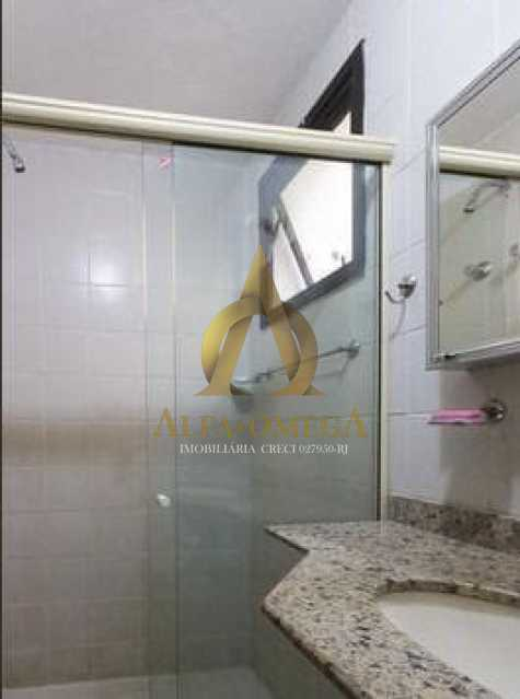 8 - Apartamento para alugar Rua Jornalista Henrique Cordeiro,Barra da Tijuca, Rio de Janeiro - R$ 2.400 - AO20310L - 9