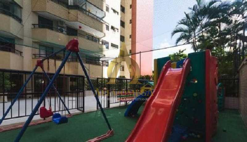 15 - Apartamento para alugar Rua Jornalista Henrique Cordeiro,Barra da Tijuca, Rio de Janeiro - R$ 2.400 - AO20310L - 15