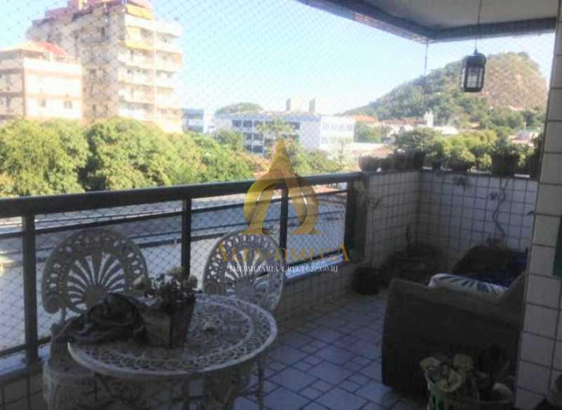 1 - Apartamento à venda Rua Araguaia,Freguesia (Jacarepaguá), Rio de Janeiro - R$ 630.000 - AOJ30074 - 1