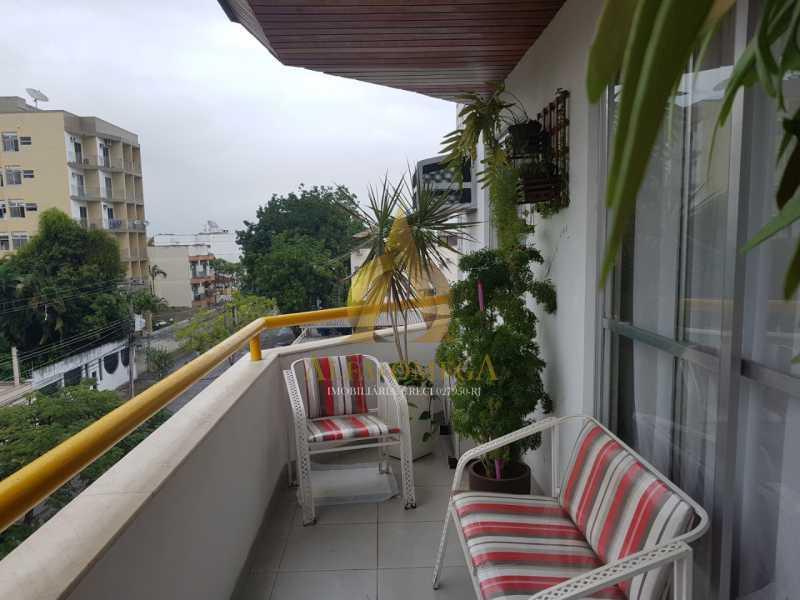 1 - Cobertura à venda Rua Caniu,Pechincha, Rio de Janeiro - R$ 485.000 - AOJ50052 - 4