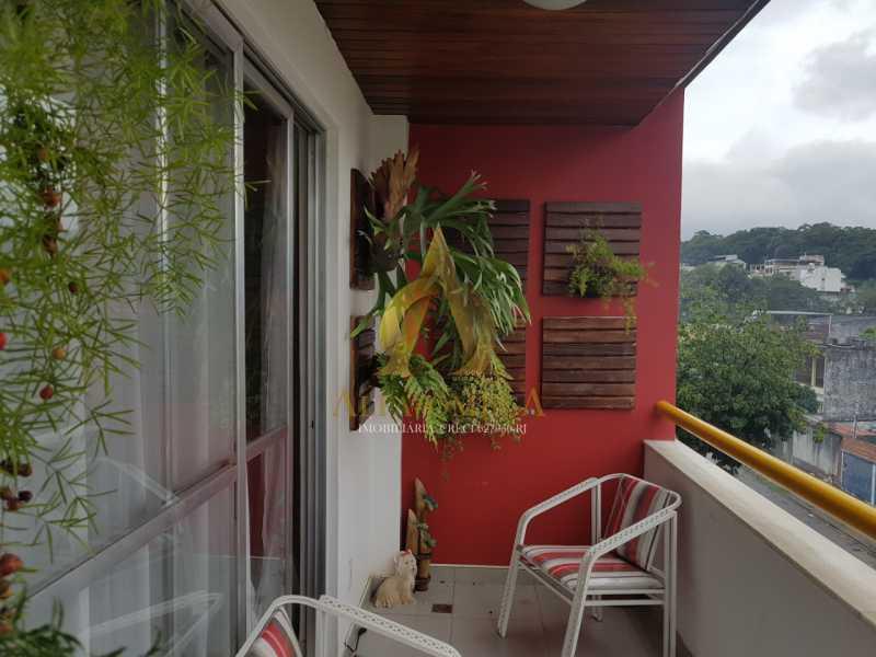 2 - Cobertura à venda Rua Caniu,Pechincha, Rio de Janeiro - R$ 485.000 - AOJ50052 - 3