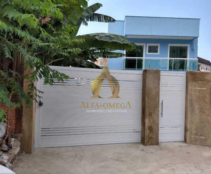 2 - Casa em Condomínio à venda Estrada do Bananal,Freguesia (Jacarepaguá), Rio de Janeiro - R$ 805.000 - AOJ60137 - 1