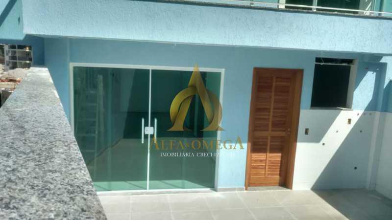 14 - Casa em Condomínio à venda Estrada do Bananal,Freguesia (Jacarepaguá), Rio de Janeiro - R$ 805.000 - AOJ60137 - 5