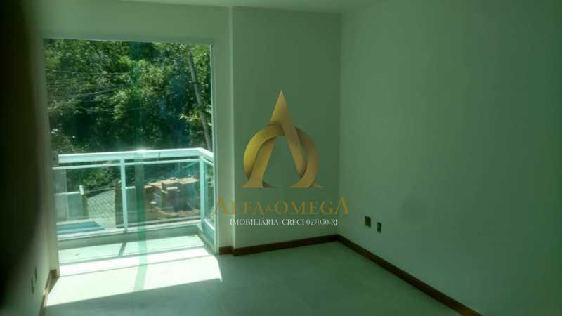 16 - Casa em Condomínio à venda Estrada do Bananal,Freguesia (Jacarepaguá), Rio de Janeiro - R$ 805.000 - AOJ60137 - 17