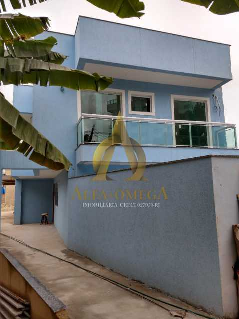 18 - Casa em Condomínio à venda Estrada do Bananal,Freguesia (Jacarepaguá), Rio de Janeiro - R$ 805.000 - AOJ60137 - 4