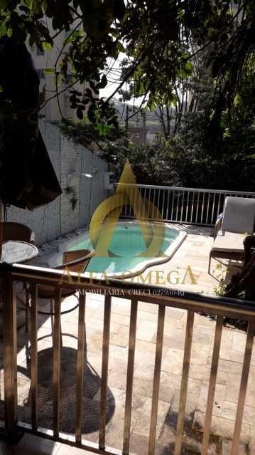 18 - Casa à venda Rua Retiro dos Artistas,Pechincha, Rio de Janeiro - R$ 650.000 - AOJ60138 - 29
