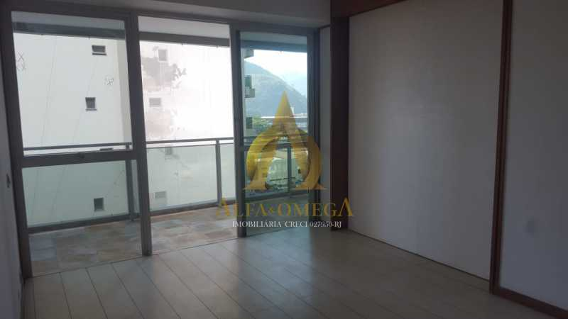 1 - Apartamento à venda Rua Alceu Amoroso Lima,Barra da Tijuca, Rio de Janeiro - R$ 540.000 - AO10252 - 1