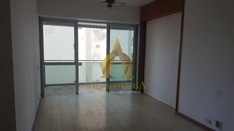7 - Apartamento à venda Rua Alceu Amoroso Lima,Barra da Tijuca, Rio de Janeiro - R$ 540.000 - AO10252 - 4