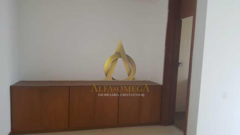 8 - Apartamento à venda Rua Alceu Amoroso Lima,Barra da Tijuca, Rio de Janeiro - R$ 540.000 - AO10252 - 9