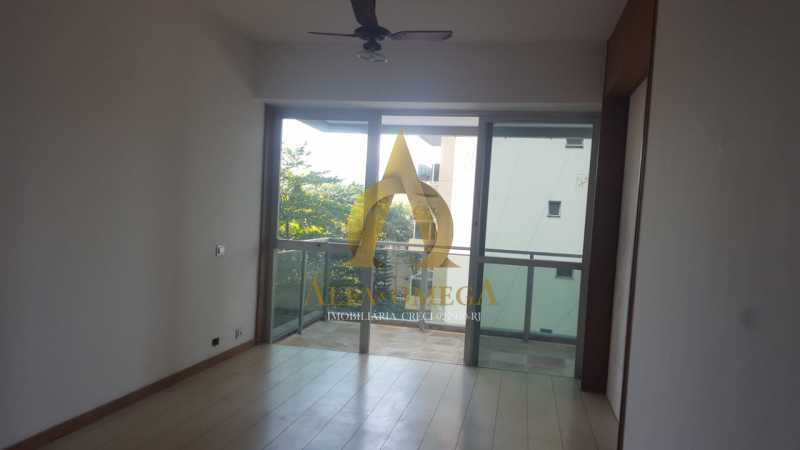 9 - Apartamento à venda Rua Alceu Amoroso Lima,Barra da Tijuca, Rio de Janeiro - R$ 540.000 - AO10252 - 5