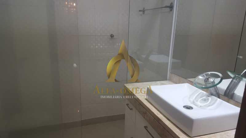 11 - Apartamento à venda Rua Alceu Amoroso Lima,Barra da Tijuca, Rio de Janeiro - R$ 540.000 - AO10252 - 10