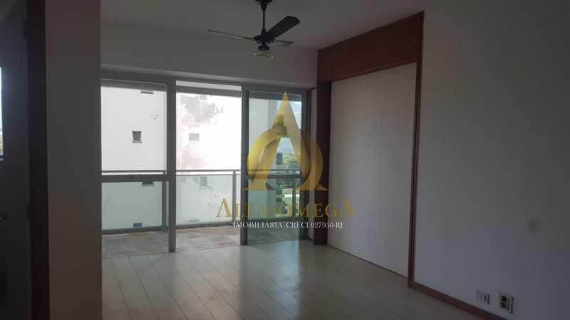 12 - Apartamento à venda Rua Alceu Amoroso Lima,Barra da Tijuca, Rio de Janeiro - R$ 540.000 - AO10252 - 6