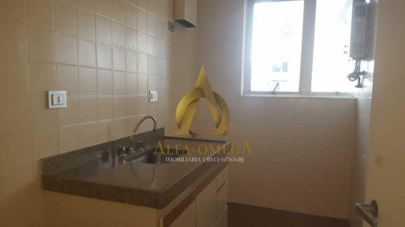 13 - Apartamento à venda Rua Alceu Amoroso Lima,Barra da Tijuca, Rio de Janeiro - R$ 540.000 - AO10252 - 14