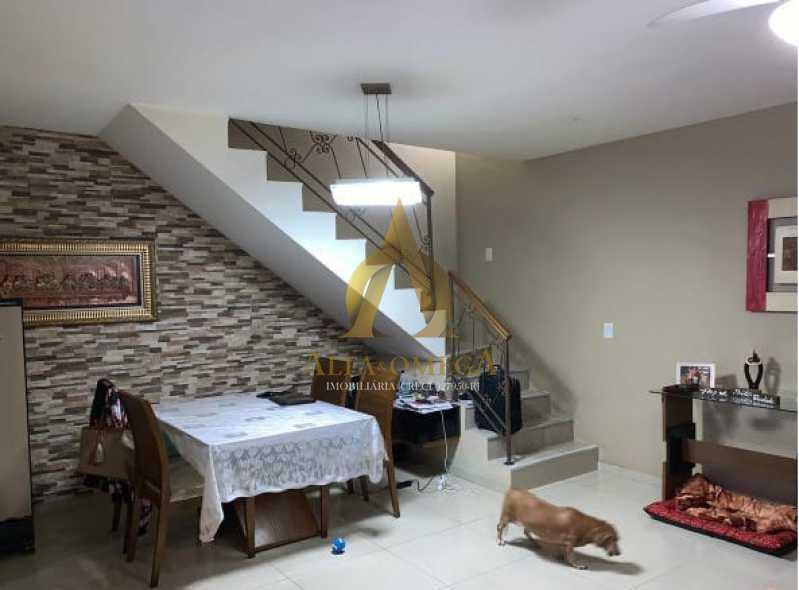 1 - Casa em Condomínio 3 quartos à venda Pechincha, Rio de Janeiro - R$ 495.000 - AOJ60147 - 3