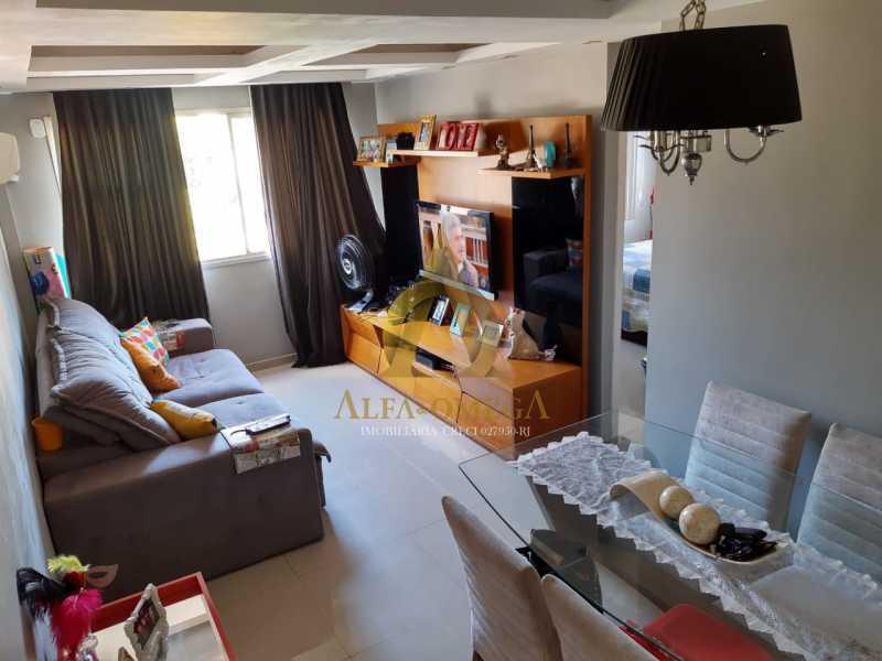 4 - Apartamento à venda Rua Baronesa,Praça Seca, Rio de Janeiro - R$ 175.000 - AOJ20247 - 1