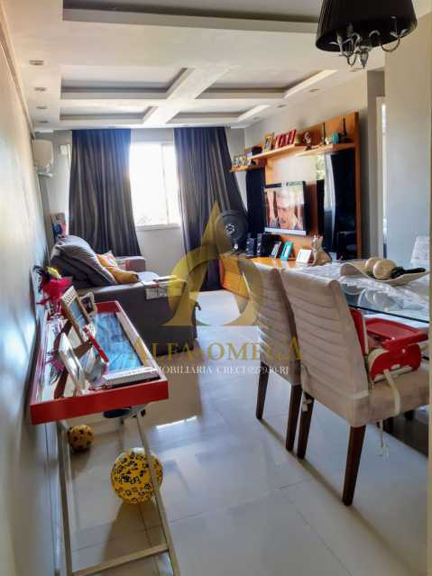 6 - Apartamento à venda Rua Baronesa,Praça Seca, Rio de Janeiro - R$ 175.000 - AOJ20247 - 3