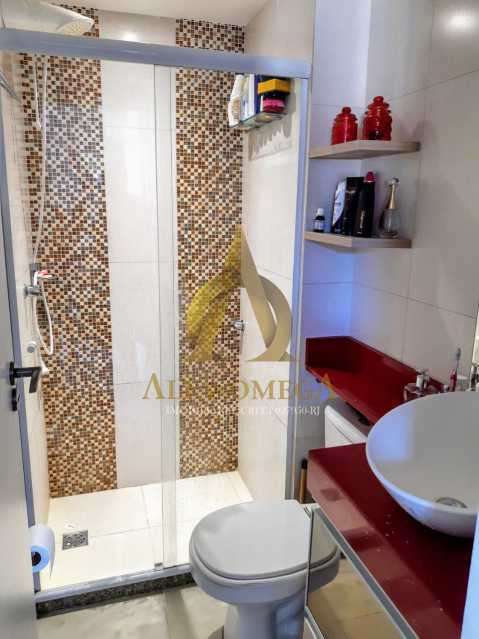 7 - Apartamento à venda Rua Baronesa,Praça Seca, Rio de Janeiro - R$ 175.000 - AOJ20247 - 11
