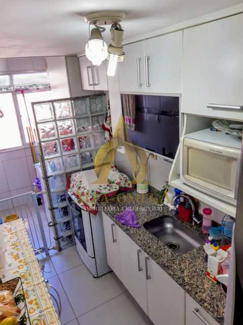 10 - Apartamento à venda Rua Baronesa,Praça Seca, Rio de Janeiro - R$ 175.000 - AOJ20247 - 14
