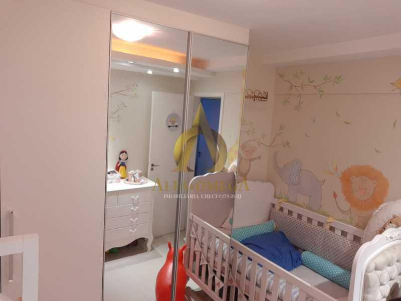 14 - Apartamento à venda Rua Baronesa,Praça Seca, Rio de Janeiro - R$ 175.000 - AOJ20247 - 8