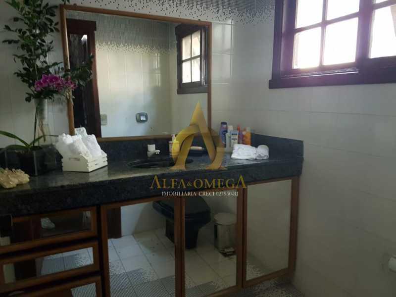 14 - Casa em Condomínio 4 quartos à venda Barra da Tijuca, Rio de Janeiro - R$ 4.200.000 - AOJC60140 - 11