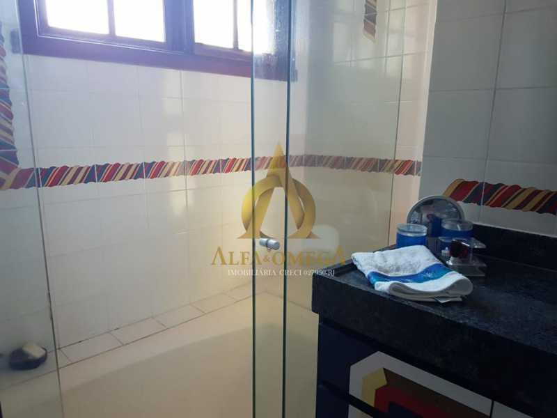 17 - Casa em Condomínio 4 quartos à venda Barra da Tijuca, Rio de Janeiro - R$ 4.200.000 - AOJC60140 - 12