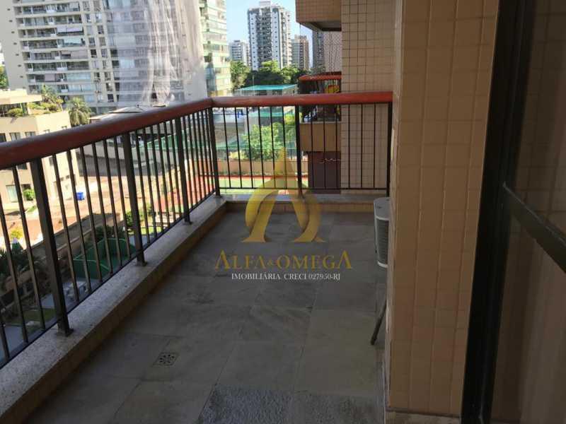 12 - Apartamento 2 quartos à venda Barra da Tijuca, Rio de Janeiro - R$ 890.000 - AO20449 - 4