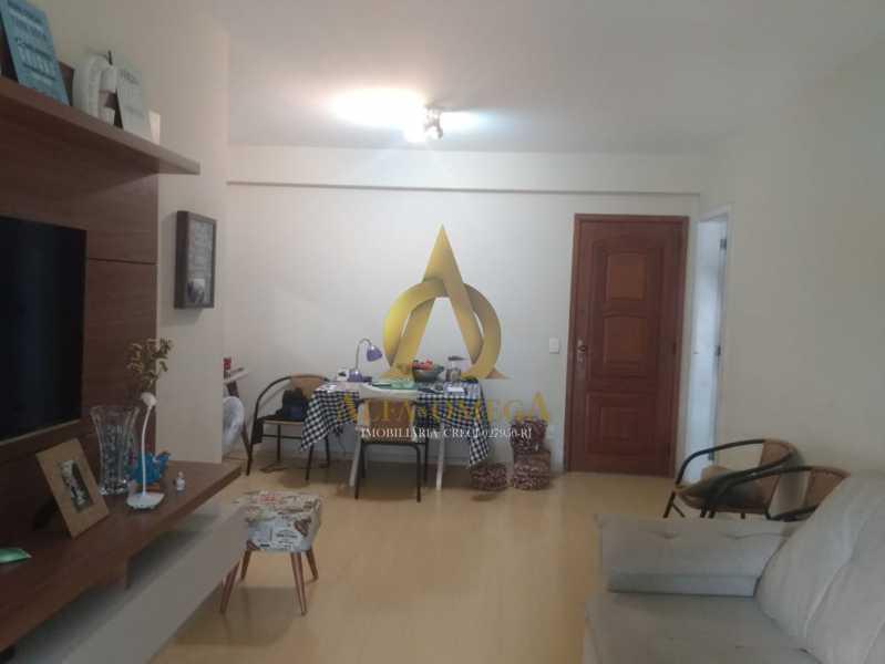 1 - Apartamento 2 quartos à venda Barra da Tijuca, Rio de Janeiro - R$ 890.000 - AO20452 - 3