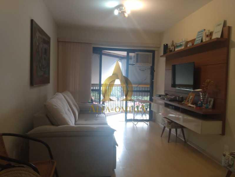 7 - Apartamento 2 quartos à venda Barra da Tijuca, Rio de Janeiro - R$ 890.000 - AO20452 - 1