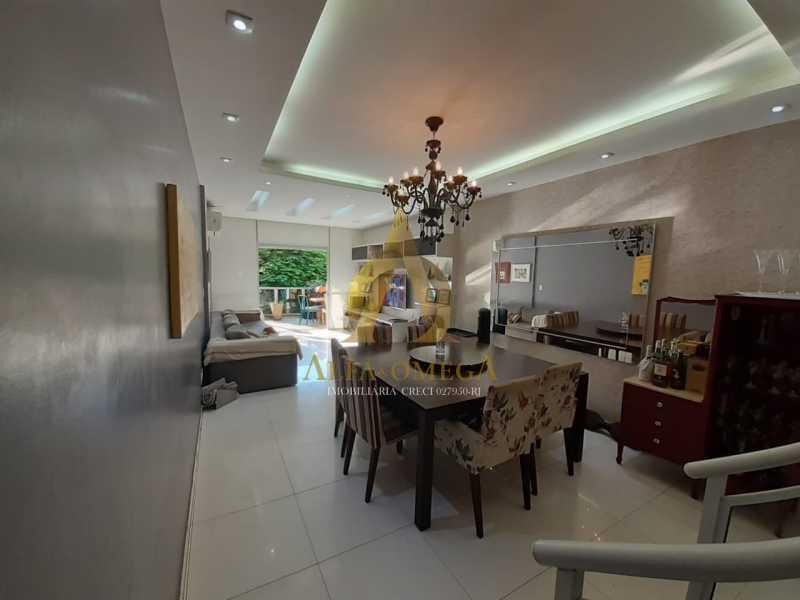 2 - Cobertura 4 quartos à venda Barra da Tijuca, Rio de Janeiro - R$ 1.740.000 - AO50123 - 4