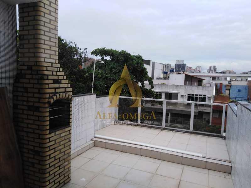 13 - Cobertura 4 quartos à venda Barra da Tijuca, Rio de Janeiro - R$ 1.740.000 - AO50123 - 16