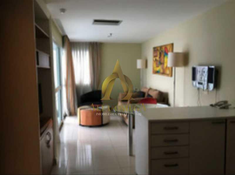 3 - Apartamento 1 quarto à venda Barra da Tijuca, Rio de Janeiro - R$ 690.000 - AO10255 - 4