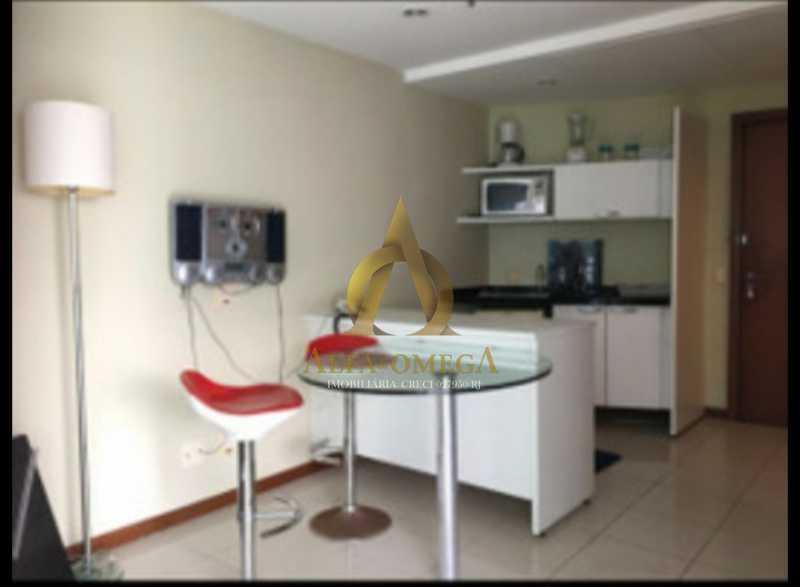 6 - Apartamento 1 quarto à venda Barra da Tijuca, Rio de Janeiro - R$ 690.000 - AO10255 - 7
