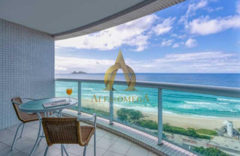 15 - Apartamento 1 quarto à venda Barra da Tijuca, Rio de Janeiro - R$ 690.000 - AO10255 - 1