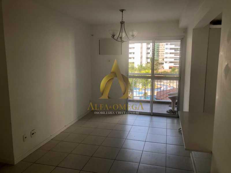 1 - Apartamento 2 quartos à venda Barra da Tijuca, Rio de Janeiro - R$ 370.000 - AO20457 - 1