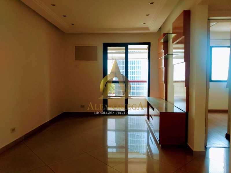 1 - Apartamento 2 quartos à venda Barra da Tijuca, Rio de Janeiro - R$ 650.000 - AO20459 - 1