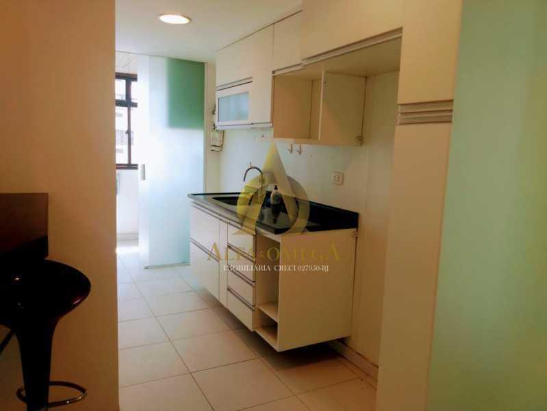 16 - Apartamento 2 quartos à venda Barra da Tijuca, Rio de Janeiro - R$ 650.000 - AO20459 - 16