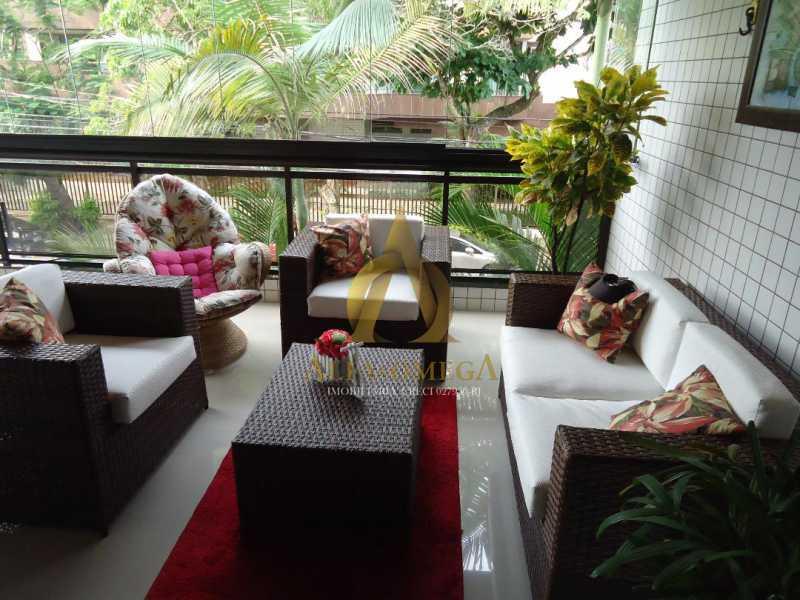 1 - Apartamento 3 quartos à venda Recreio dos Bandeirantes, Rio de Janeiro - R$ 735.000 - AO30219 - 3