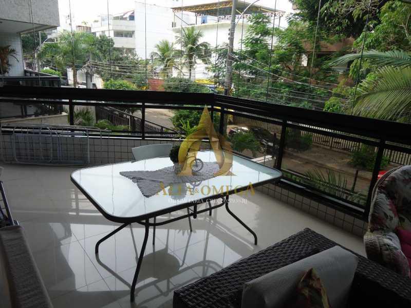 6 - Apartamento 3 quartos à venda Recreio dos Bandeirantes, Rio de Janeiro - R$ 735.000 - AO30219 - 5