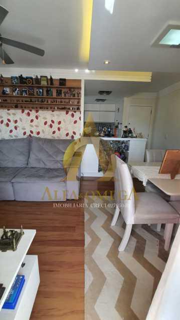 2 - Apartamento à venda Rua Potiguara,Freguesia (Jacarepaguá), Rio de Janeiro - R$ 571.000 - AOJ30087 - 9