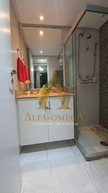 14 - Apartamento à venda Rua Potiguara,Freguesia (Jacarepaguá), Rio de Janeiro - R$ 571.000 - AOJ30087 - 26