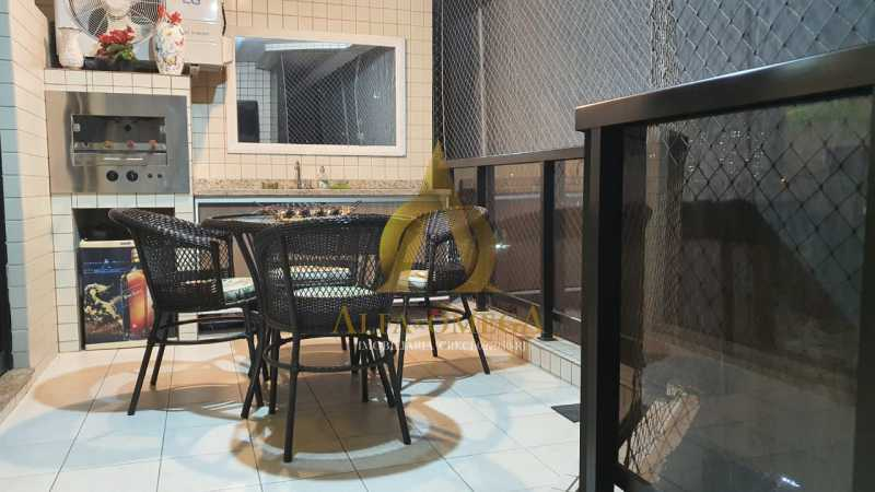 23 - Apartamento à venda Rua Potiguara,Freguesia (Jacarepaguá), Rio de Janeiro - R$ 571.000 - AOJ30087 - 4